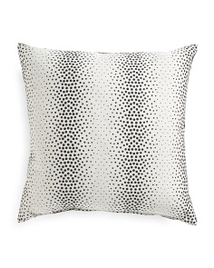 Made In USA Pearls Dot Pillow