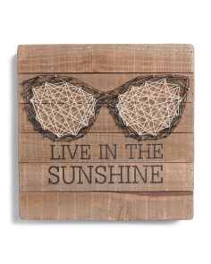 Live In The Sunshine String Art
