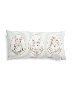 Made In India 12x24 Bunny Pillow