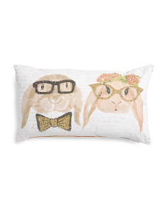 Made In India 14x24 Mr & Mrs Winnie Pillow