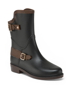 Two Buckle Rain Booties