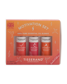 3pk Motivation Essential Oil Set