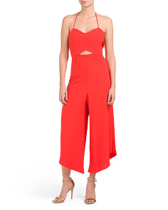 Juniors Gaucho Jumpsuit