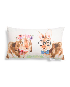 14x24 Husband And Wife Easter Pillow