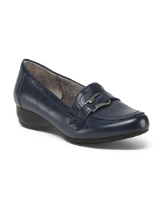 Buckle Detail Loafers