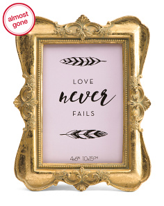 4x6 Dainty Decorative Photo Frame