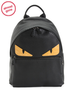 Made In Italy Roman Leather Backpack