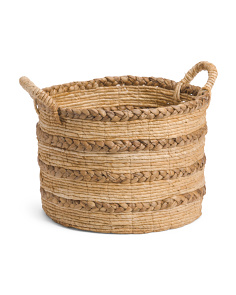 Medium Braided Banana Storage Basket