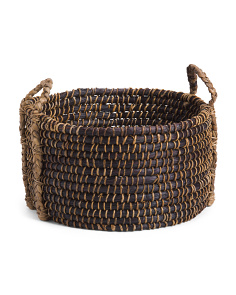 Medium Heavy Weave Mendong Basket