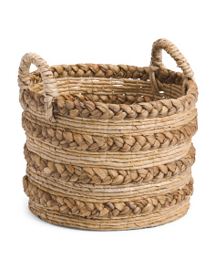 Small Braided Banana Storage Basket