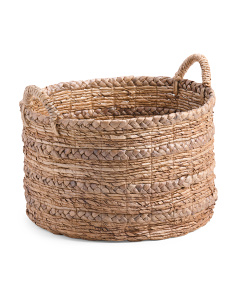 Made In Indonesia Large Braided Storage Basket