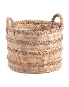 Made In Indonesia Medium Braided Storage Basket