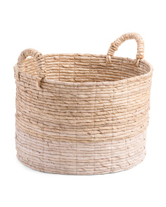 Made In Indonesia Medium Basket With Thick Handle