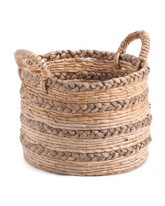 Made In Indonesia Small Braided Storage Basket
