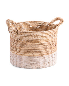 Made In Indonesia Small Basket With Thick Handle