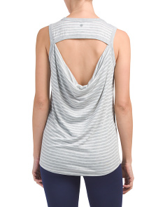 Open Cowl Back Tank