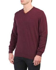 Wool Blend Harrow V-neck Sweater