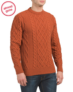 Kirktown Wool Cable Sweater