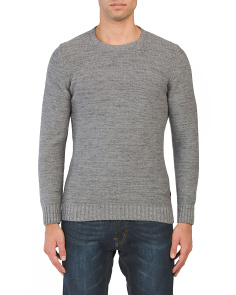 Wool Blend Portlight Sweater