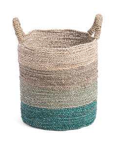 Extra Small Ombre Seagrass Storage Basket