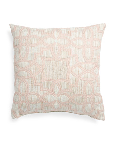 Made In USA 24x24 Oversized Arabesque Pillow