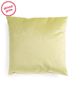 Made In USA 22x22 Linen Back Pillow