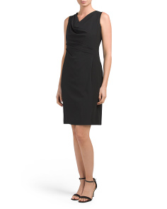 Petite Sleek Tech Rosemary Dress