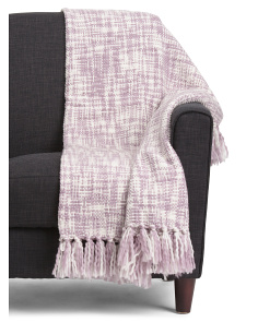 Fringed Decorative Throw