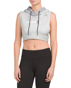 Combat Cropped Glory Hoodie