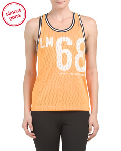 Racerback Perforated Tank