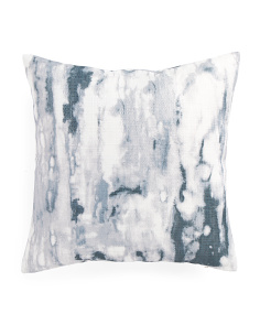 20x20 Marble Print Pillow