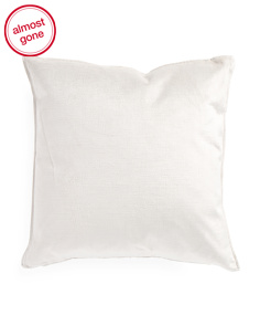 20x20 Velvet Front Linen Back Pillow