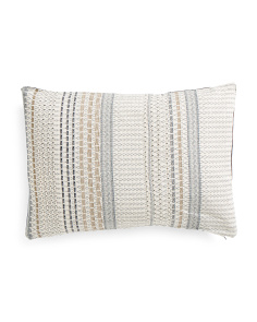 Made In India 14x20 Osaka Pleated Pillow