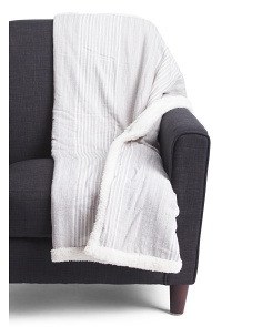 Pencil Stripe Throw