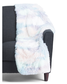 Ross Faux Rabbit Fur Throw