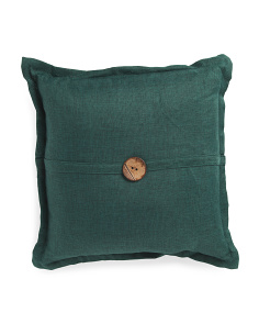 20x20 Faux Linen Pillow