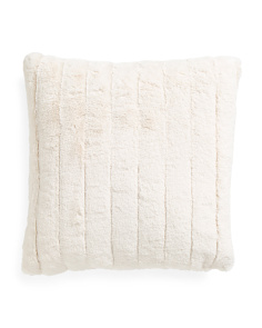 20x20 Samantha Faux Fur Pillow