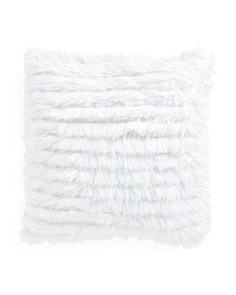24x24 Oversized Faux Fur Pillow