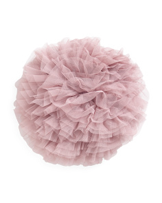 Round Organza Pillow