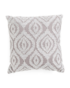 Made In India 12x12 Sajan Metallic Pillow