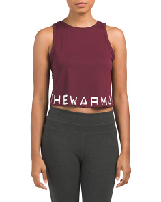 The Warmup Crop Top