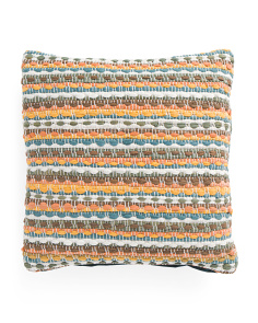 Made In India 20x20 Eden Textured Pillow