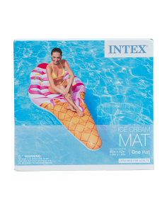 88x42 Inflatable Ice Cream Mat