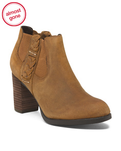 Premium Leather Booties