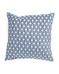 Made In USA 20x20 Geometric Pillow