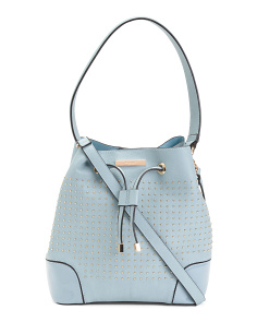 Stacy Stud Bucket Bag