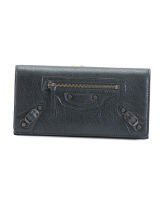 Mamade In Italy Classic Money Leather Wallet