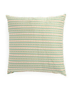 Made In USA 20x20 Pattern Pillow