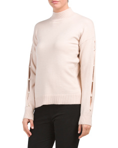 Long Sleeve Pearl Sweater