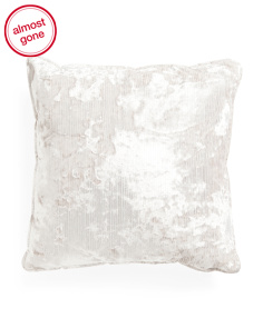 20x20 Foil Printed Velvet Pillow
